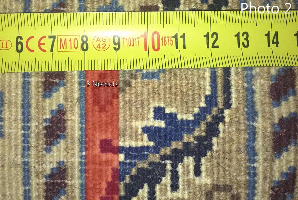 calculer la densit e de nouage d 39 un tapis persan. Black Bedroom Furniture Sets. Home Design Ideas